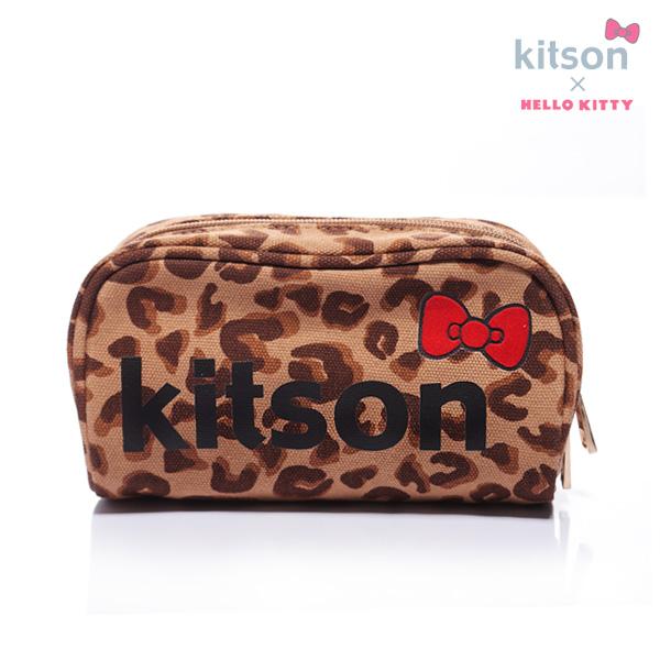 kitson×HELLOKITTYポーチ